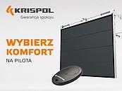 Bramy garażowe KRISPOL napędzane automatyką bez VAT zdj. 2