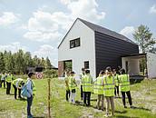 FAKRO partnerem projektu budowy domów e4 zdj. 5