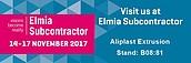 Aliplast Extrusion na targach ELMIA SUBCONTRACTOR 14-17 listopad 2017 zdj. 2
