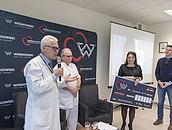 Pół miliona złotych od firmy WIŚNIOWSKI na ratowanie życia dzieci zdj. 9