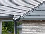 Dach domu jednorodzinnego z tytan-cynku w Rangsdorf zdj. 3