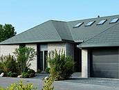 Dach domu jednorodzinnego z tytan-cynku w Rangsdorf zdj. 8