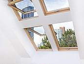 600 niestandardowych okien dachowych FAKRO w Goethehof zdj. 4