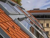 600 niestandardowych okien dachowych FAKRO w Goethehof zdj. 3