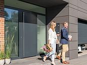 Nowy wymiar elegancji. Drzwi zewnętrzne ThermoPlan Hybrid firmy Hörmann zdj. 2