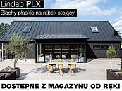 Lindab PLX – blachy płaskie na rąbek stojący dostępne od ręki z magazynu zdj. 1
