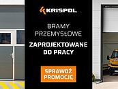Bramy przemysłowe zaprojektowane do pracy – KRISPOL z promocją zdj. 1