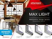 Max Light - nowość w ofercie systemów okiennych Aliplast zdj. 1