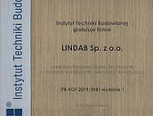 Krajowa Ocena Techniczna (KOT) - National Technical Assessment dla produktów Lindab zdj. 3