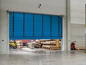 Szybkobieżne bramy składane: elastyczne, bezpieczne, kolorowe zdj. 2