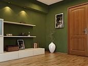 FFiL Śnieżka S.A. Renowacja drewnianych drzwi