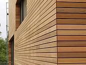 KOPP Elewacja wykonana z drewna (cedru kanadyjskiego)
