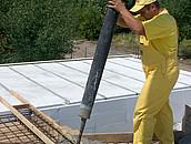 montaż prefabrykatów betonowych