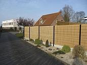 Przesłony - alternatywa dla ogrodzenia drewnianego zdj. 4