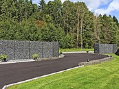 Murek gabionowy zamiast betonu zdj. 1