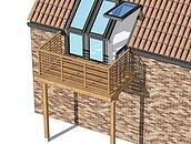 Jak powiększyć przestrzeń na poddaszu? Nowa kolekcja firmy VELUX zdj. 18