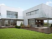 Aluminiowe drzwi przesuwne: panoramiczne przeszklenia zdj. 3
