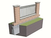 Stawiamy ogrodzenie z pustaków betonowych zdj. 17