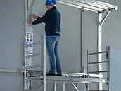 Aluminiowe rusztowania jezdne dla profesjonalistów zdj. 4