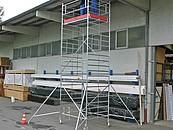 Aluminiowe rusztowania jezdne dla profesjonalistów zdj. 3