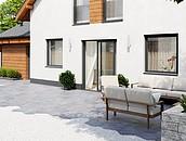 Jak dobrać nawierzchnie wokół posesji do stylu budynku, aby zachować spójność architektoniczną? zdj. 4