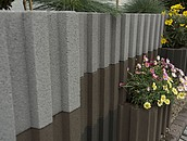 Nowoczesne kwietniki ogrodowe z betonu zdj. 6
