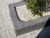 Nowoczesne kwietniki ogrodowe z betonu zdj. 3