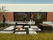 Nowoczesne kwietniki ogrodowe z betonu zdj. 8
