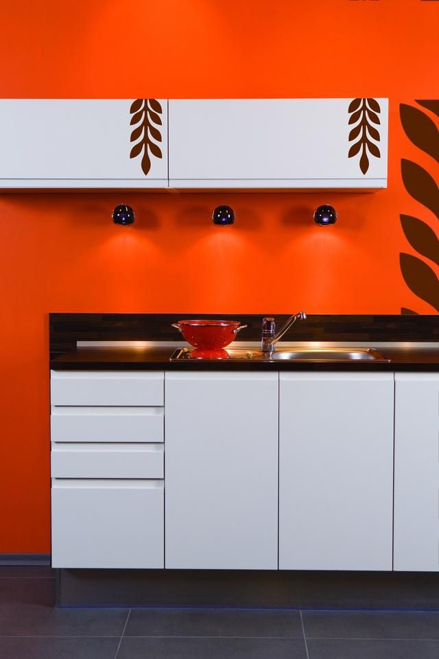 Farby do kuchni i łazienki  Porady dotyczące wnętrz   -> Kuchnie Kolory Farb