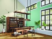 Wnętrza z drewnem w roli głównej – jak dobrać kolory ścian? zdj. 4