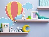 Pomysły na kreatywne dekoracje w pokoju dziecka zdj. 3