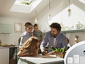 Nowy inteligentny system VELUX ACTIVE myśli za Ciebie o Twoim zdrowiu i komforcie w domu zdj. 2