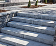 BRUK-BET Bloki schodowe Trawertyn