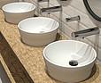 FRANKE Umywalki z kompozytu mineralnego