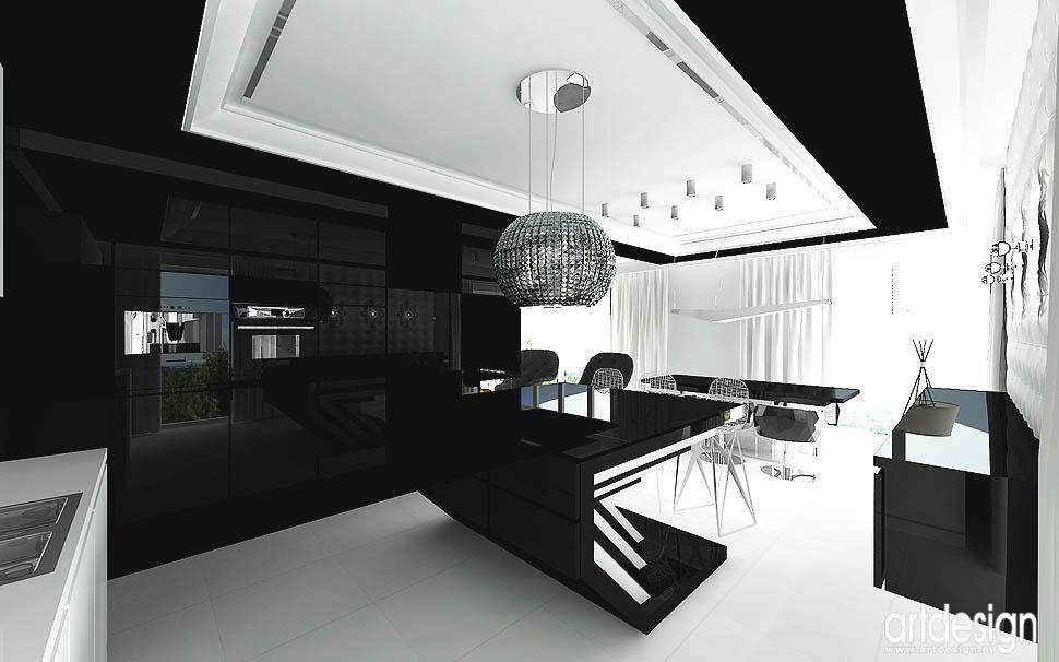Artdesign biuro projektowe  ARTDESIGN Projekt kuchni  Budoskop pl