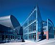 ATELIER LOEGLER Rozbudowa Akademii Ekonomicznej basen i hala, Kraków, 1995-1999