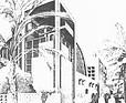 ATELIER LOEGLER Uniwersytet Al. Baas, Syria, 1981