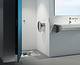 DELABIE Pojemnik na papier WC do rolki 400 m Inox 304 błyszczący