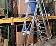 KRAUSE Drabina wolnostojąca z dużą platformą i barierkami zabezpieczającymi