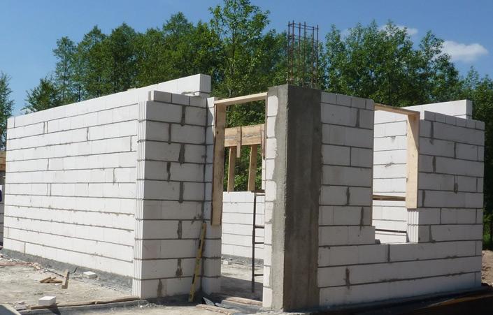 materiały do budowy ścian silikaty