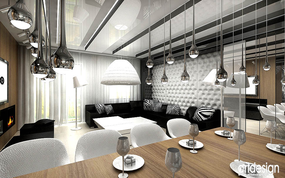 Artdesign biuro projektowe - ARTDESIGN Projekt salonu - Budoskop.pl