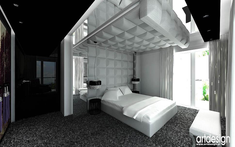 Artdesign biuro projektowe - ARTDESIGN Projekt sypialni - Budoskop.pl